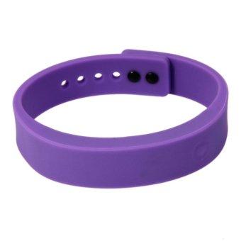Cyband New Stylish Bluetooth Smart Healthy Silicone Bracelet Watch (Purple)