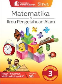 PesonaEdu Pembelajaran Digital - Pembelajaran Siswa Matematika & IPA Kelas 3