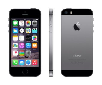 Refurbished Apple iPhone 5S - 16GB - Abu-abu - Grade A
