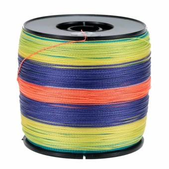 1000M Super Strong Multifilament Polyethylene Braided Fishing Line 40LB - Intl