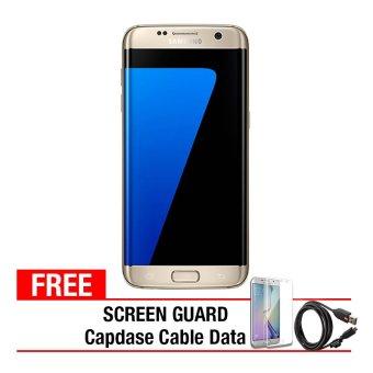 Samsung Galaxy S7 Edge - 32GB - Gold + Gratis Anti Gores + Capdase Micro USB