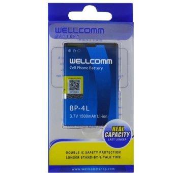 Wellcomm Baterai BP-4L untuk Nokia 6760, E52, E61i, E63, E71, E72,E90, N810, N97 terpercaya
