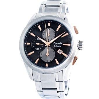 harga Alexandre Christie – chronograph - Jam Tangan Pria – AC927G Silver Lazada.co.id