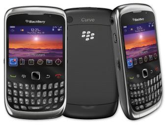 Blackberry Keppler 9300 (Hitam)