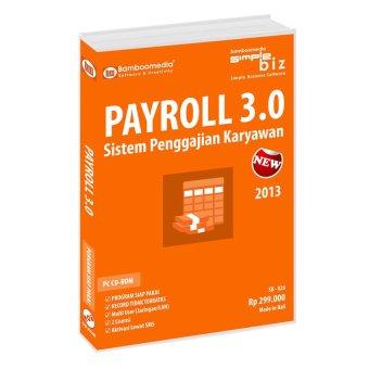 Bamboomedia - Program Payroll 3.0 - Sistem Penggajian Karyawan - Oranye