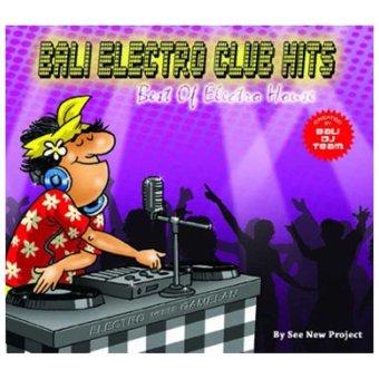 Maharani Record - Bali Electro Club Hits - Music CD