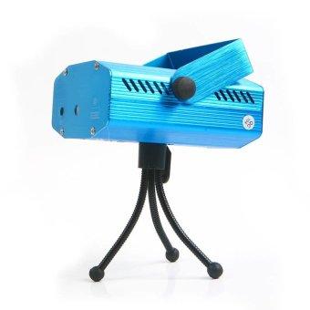 Mini LED Laser Projector Stage Lighting Adjustment DJ Disco Party Club Blue (Intl)