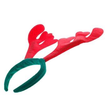 Christmas Gift Christmas Headband Deer Horn Headband (Intl)