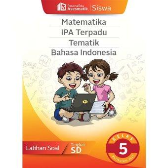 PesonaEdu Koleksi Soal Digital Asesmatik Siswa Matematika,IPA Terpadu Asesmatik Bhs Indonesia Kelas 5