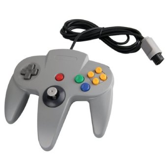 New Style Long Handle Game Controller Pad Vibrations shock Joystick for Nintendo 64 N64 System (Intl)