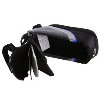 OEM Roswheel Bicycle Frame Pannier Phone Bag - Biru