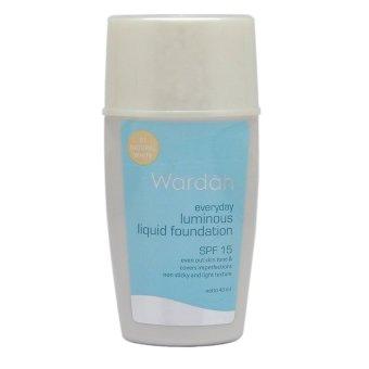 Wardah Everyday Luminous Liquid foundation - Natural