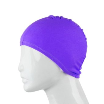 S & F Fashion Adult Unisex Outdoor Sports Cap Colorful Solid Color Fabric Purple - Intl
