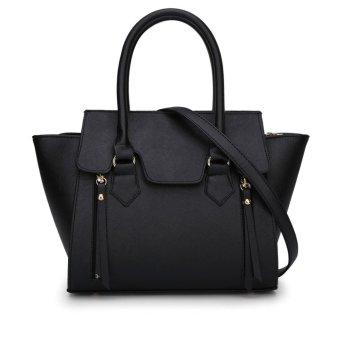 Mini Bag Button Belt Chain Candy Black Envelope Pillow Cover Phone Dress Cross Handbag Women's Bags Women's Handbag - BLACK - Intl
