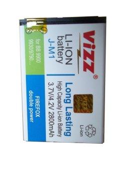 Vizz Battery BlackBerry Bellagio 9790 Double Power 2800mAh terpercaya