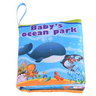 Ai Home Baby Early Education Intelligence Development Cloth Book Ocean Park