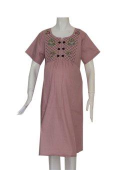 harga HMILL Baju Hamil Dress Hamil 945 Pink Kerja Menyusui Lazada.co.id