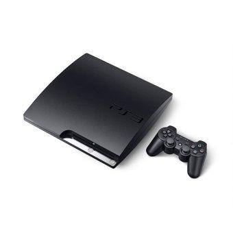 Sony Playstation 3 Slim 120GB - Hitam