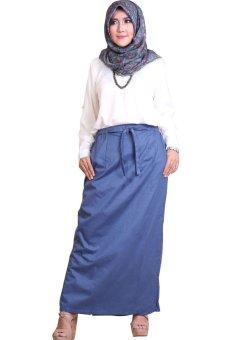 EG Collections Rok Celana Rania - Navy Blue