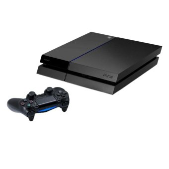 Sony PS4 500GB - Hitam