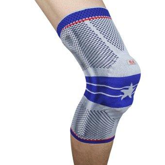 Kuangmi Senior Blue Five-star Knee Pad - XL (Intl)