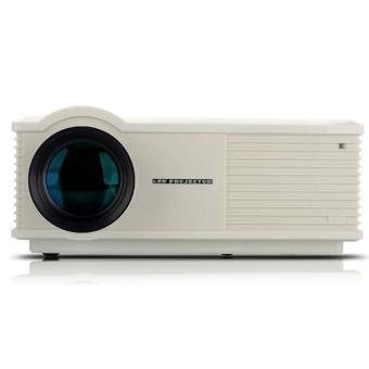 2800 Lumens Home Cinema Theater LCD Projector HDMI AV USB VGA White (Intl)