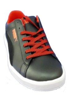 Puma Archive Lite Lo wild&wooly 35695801 Sepatu Sneaker Pria - Hitam-FlameScarlett