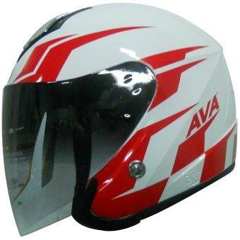 harga AVA Helmet - Technology From KOREA - Helm AVA Merah Kombinasi - Seri MotoGP Lazada.co.id
