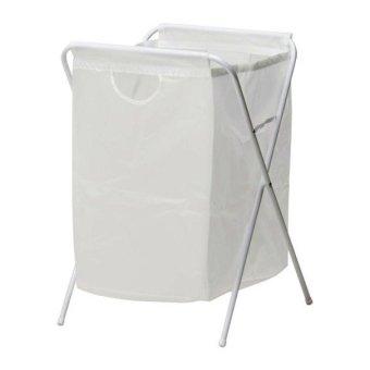 IKEA JALL   Tempat Pakaian/Laundry Kotor Dengan Penyangga Harga Murah   image 217521 1 product