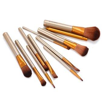 RIS 12pcs Brushes Set Powder Foundation Eyeshadow Lip Brush Tool Makeup Cosmetic (Intl)