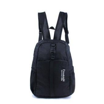Extendable Waterproof Outdoor Sports Backpack Bag Camping Hiking Travel School Bag Day Pack(Black) - Intl