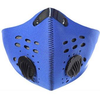 Dustproof Mask for Motoblike Cycling Running Outdoor Sport (Black) - Intl