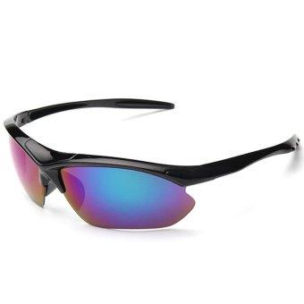 2016 New Outdoor Sport Sunglasses Men Brand Designer Golf Driving Fishing Sun Glasses With UV 400 Lens CC1536-02 (Multicolor) - Intl