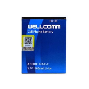 Wellcomm Battery Double IC Untuk Smartfren Andromax C terpercaya