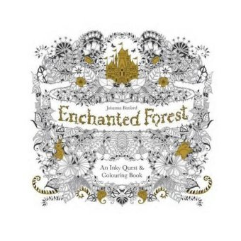 Enchanted Forest: An Inky Quest & Coloring Book (Intl)