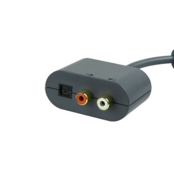 Generic Optical RCA Audio Adapter Convertor Cable Cord for Microsoft Xbox 360 Console Game (Intl)