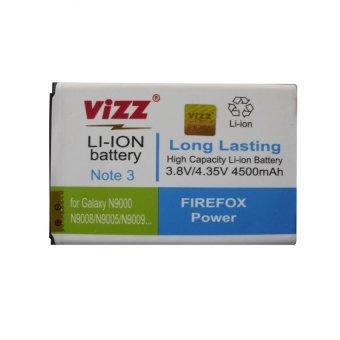 Vizz Baterai Double Power - Samsung Galaxy Note 3 terpercaya