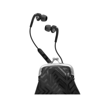 Skullcandy Women Bombshell W/Mic - Hitam-Chrome