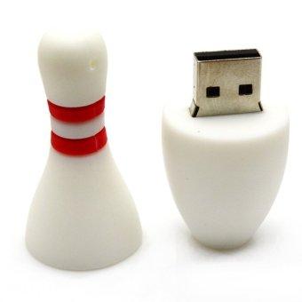 S & F Bowling 64GB USB Flash Drives Computer Pen Drives (White) - Intl