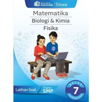 PesonaEdu Koleksi Soal Digital Asesmatik Siswa BIOKIM Fisika & Matematika Kelas 7 K2006