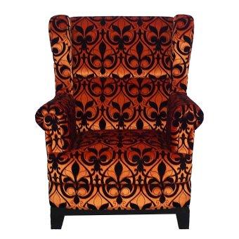 harga Ken Living Wing Chair - Orange - Khusus Jabodetabek Lazada.co.id