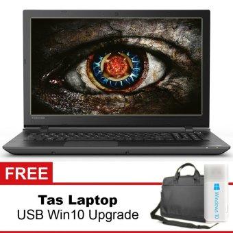 Toshiba 15.6 Designer Laptop AMD A10-8Gb-1Tb-RADEON-win8 + Gratis Tas Laptop + USB Self Upgrade Windows 10