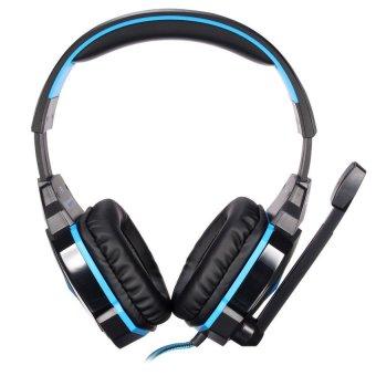 S & F Gaming Headphone (Blue) - Intl