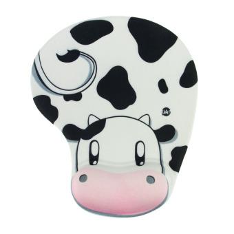 HAOFEI New Skid Resistance Memory Foam Comfort Wrist Rest Support MousePad Cow - INTL