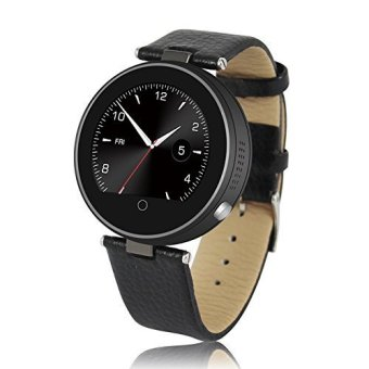 Onix ZGPAX S365 Smartwatch Heart Rate - IOS/Android - Hitam - Real Leather