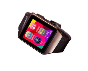 louiwill H88 Bluetooth Reloj Inteligent Smart Watch for LG Samsung HUAWEI Android (Coffee) (Intl)