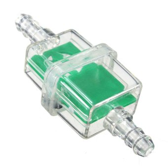 harga 6mm Square Inline Fuel Filter for Motorcycle Motorbike Moped Scooter Trials MX (Green) Lazada.co.id