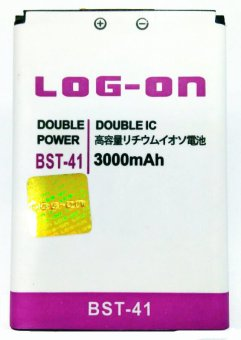 Log On Battery For Sony BST-41 for Sony Xperia X1, X10 terpercaya