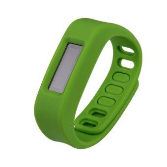 S & F Wireless Sport Sleep Wristband Smart Bracelet Healthy Fitness Tracker Green (Intl)