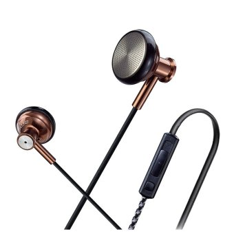 JBMMJ S1636 Earphones with MIC and Volume Control Stereo for Android Smartphones Tablets (Brown) (Intl)